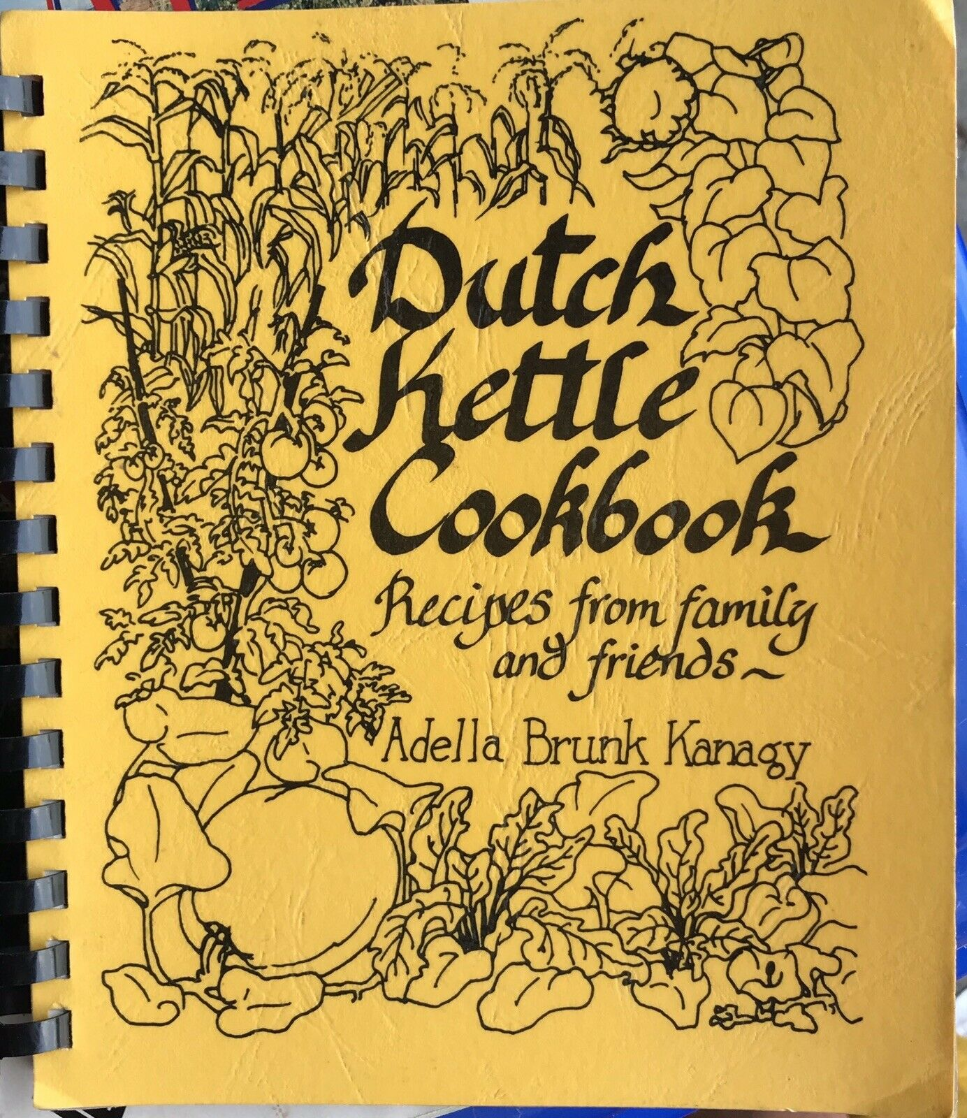 VINTAGE DUTCH KETLE COOKBOOK AMISH RECIPES FAIRFAX VIRGINIA LOCAL COMMUNITY |