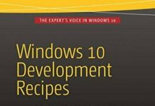 WINDOWS 10 DEVELOPMENT RECIPES: A PROBLEM-SOLUTION APPROACH IN By Lohith