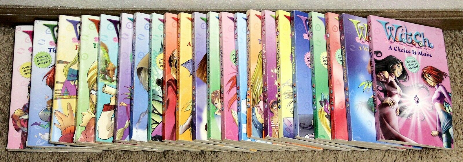 W.I.T.C.H. Series Books 1-22 by Disney and Elizabeth Lenhard (2004,… |