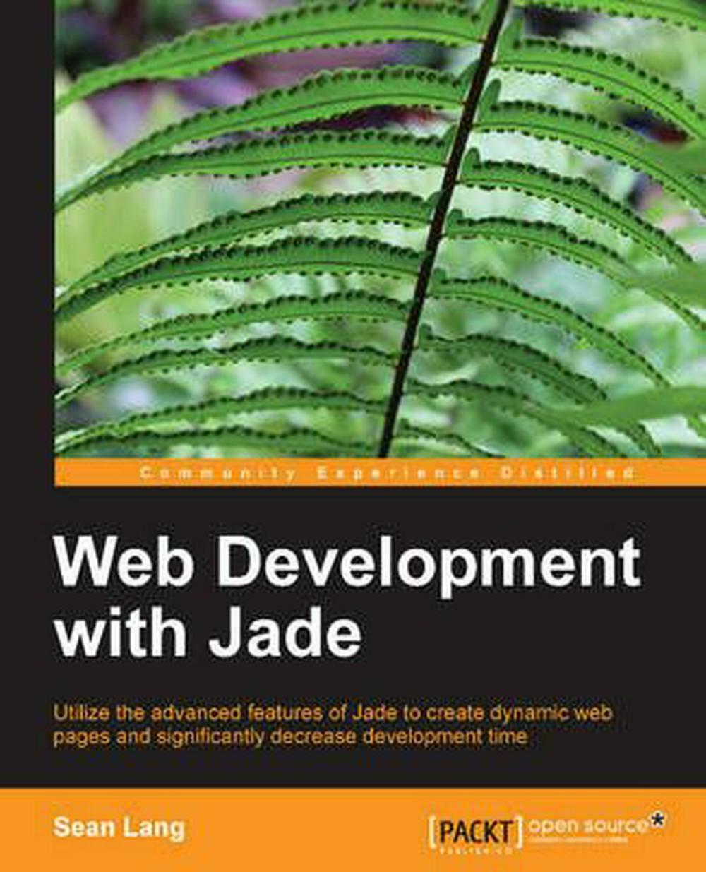 Web Development with Jade by Sean Lang (English) Paperback Book Free Shipping! |