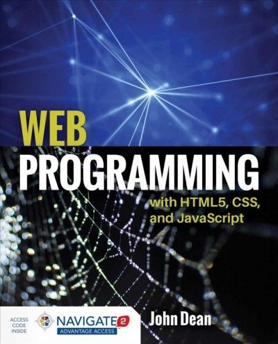 Web Program With HTML5, CSS, and JavaScript, Paperback by Dean, John, Ph.D., … |