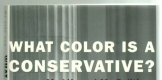 What Color Is A Conservative?  - J. C. Watts, Jr. - SIGNED - 1st Edition - HC