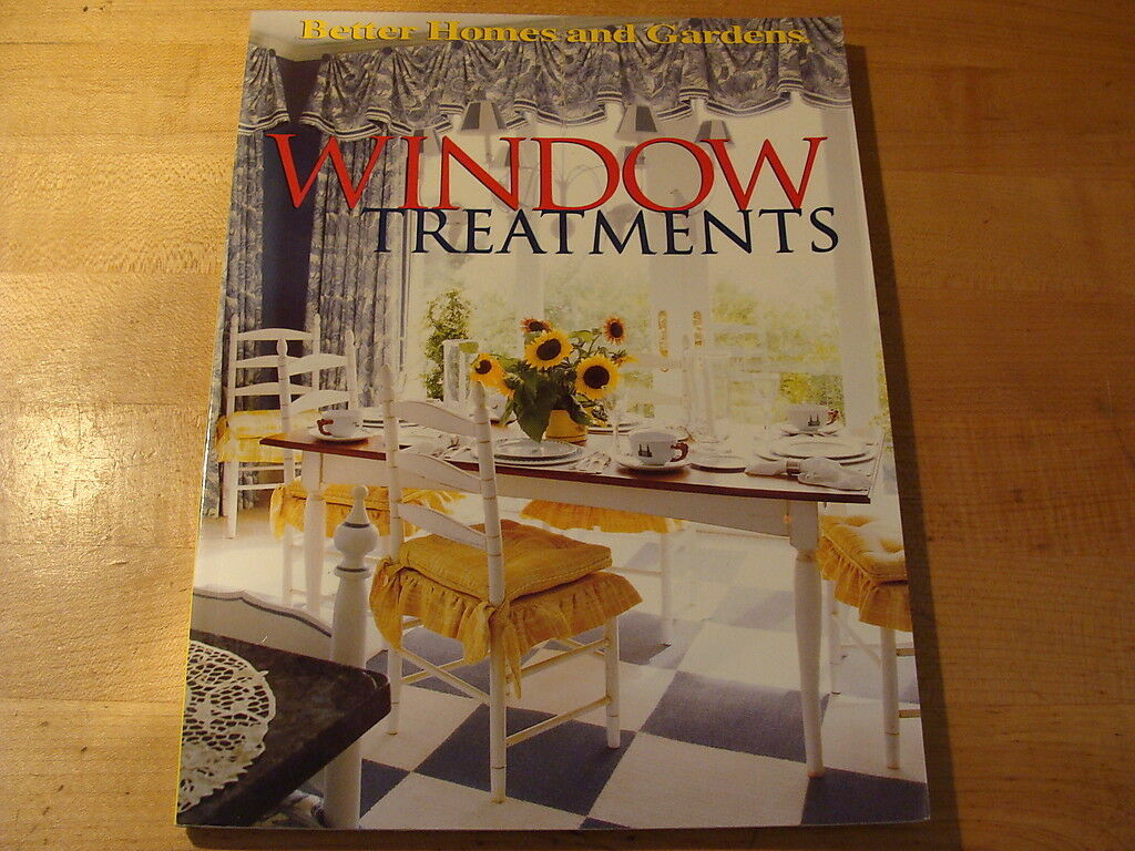 Window Treatments by Better Homes and Gardens Editors (1997, Paperback) |