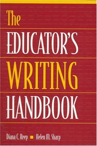 EDUCATORS WRITING HANDBOOK By Helen M Sharp **Mint Condition**