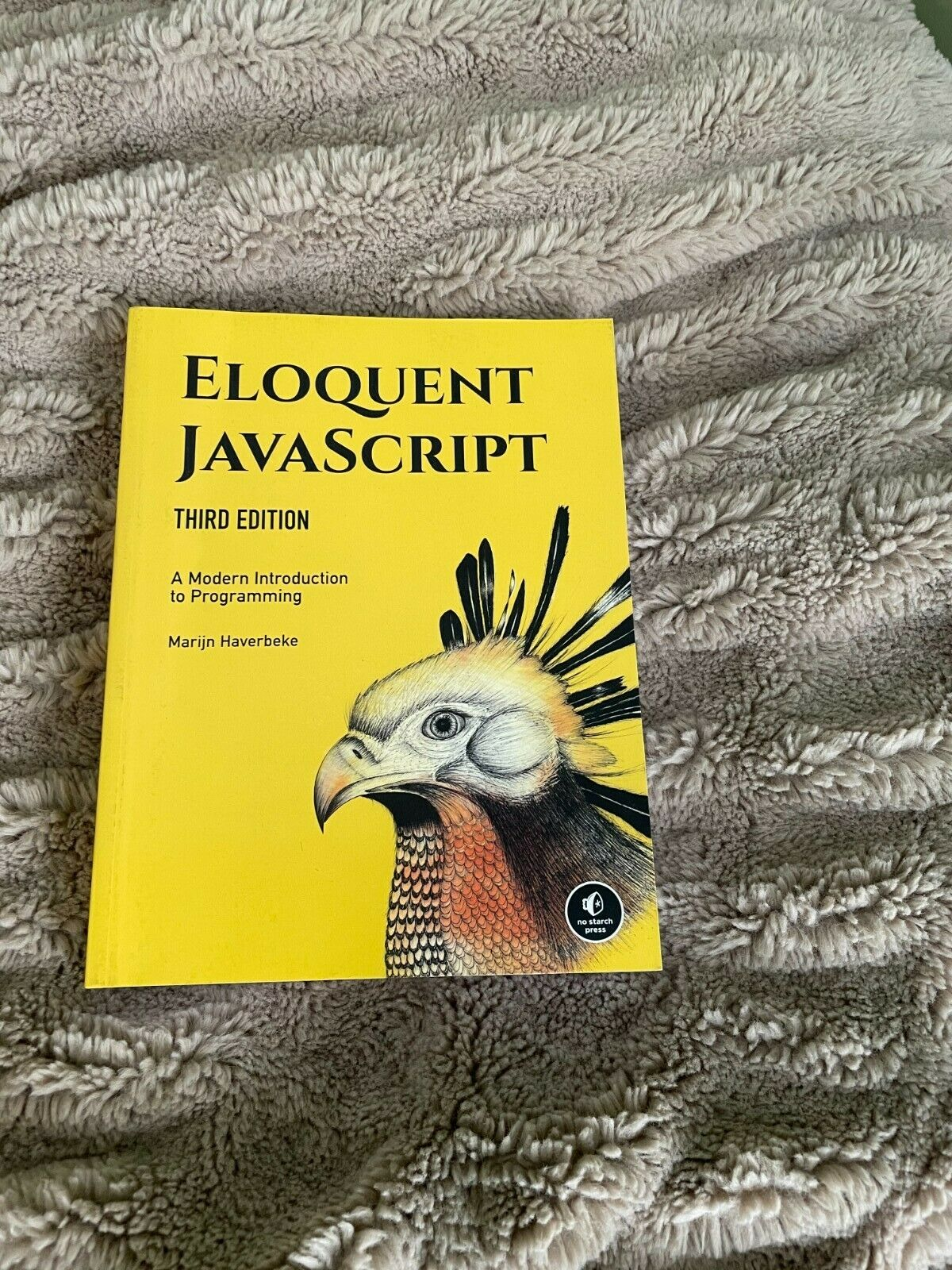 eloquent javascript 3rd edition, good condition, Free Shipping |