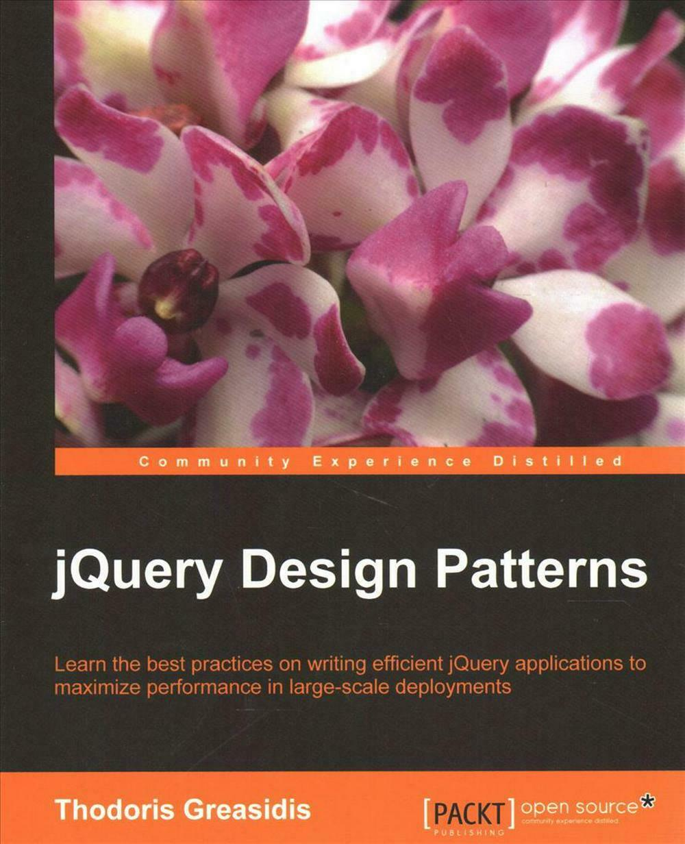 jQuery Design Patterns by Thodoris Greasidis (English) Paperback Book Free Shipp |