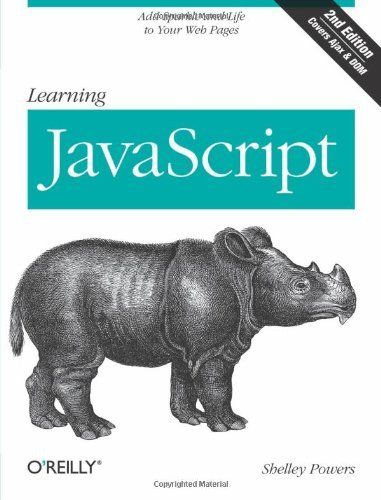 SHELLEY POWERS - Learning JavaScript, 2nd Edition - PAPERBACK ** Brand New **